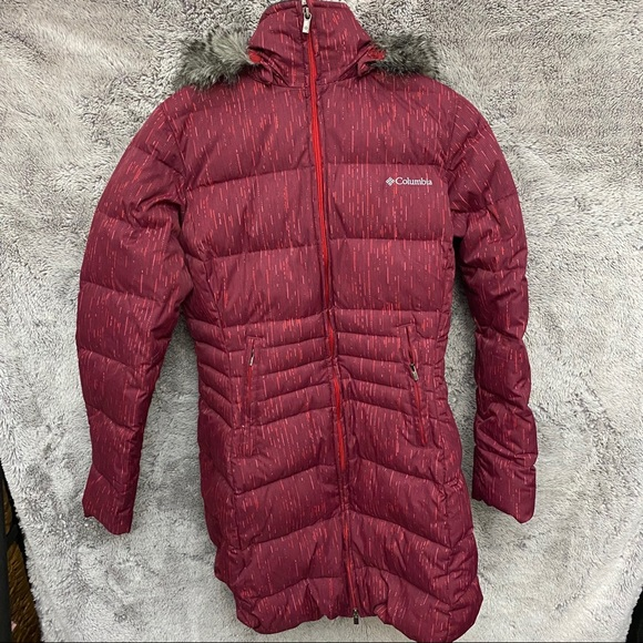 Columbia Down & Feather Long Winter Jacket